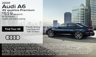 September Audi A6 Lease Offer