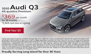 July Audi Q3 Lease Offer