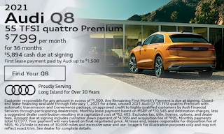 January 2021 Audi Q8 55 TFSI quattro Premium Offer