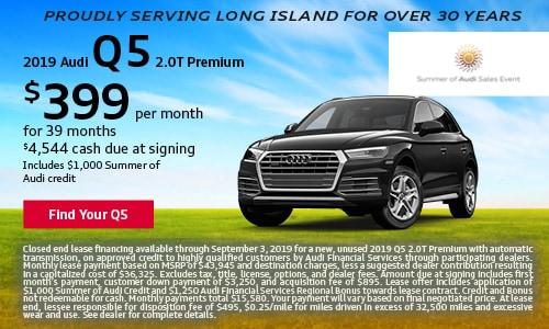 August Audi Q5 Offer