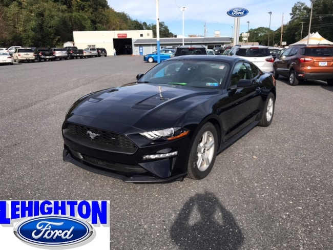 New 2018 Ford Mustang Ecoboost Coupe Lehighton