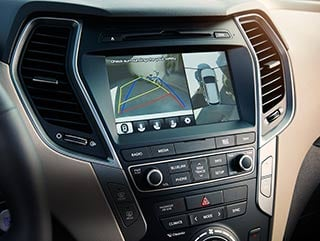 2017 Hyundai Santa Fe Sport Multiview Camera
