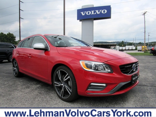Used 2017 Volvo V60 T6 AWD R-Design Platinum Wagon for sale in York, PA