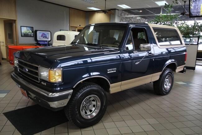 1989 Ford Bronco Eddie Bauer 4x4 Wagon