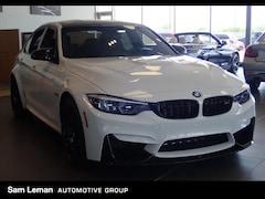 New 2018 BMW M3 Sedan BMW1230 in Bloomington, IL