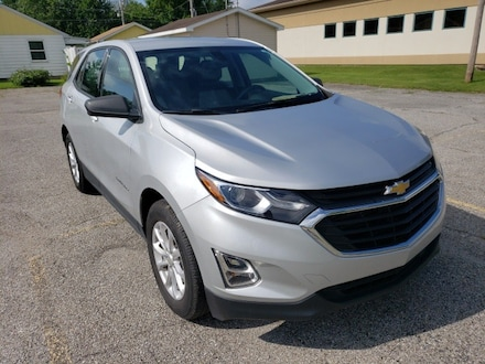 Featured used 2019 Chevrolet Equinox LS SUV for sale in Fairfield, IL