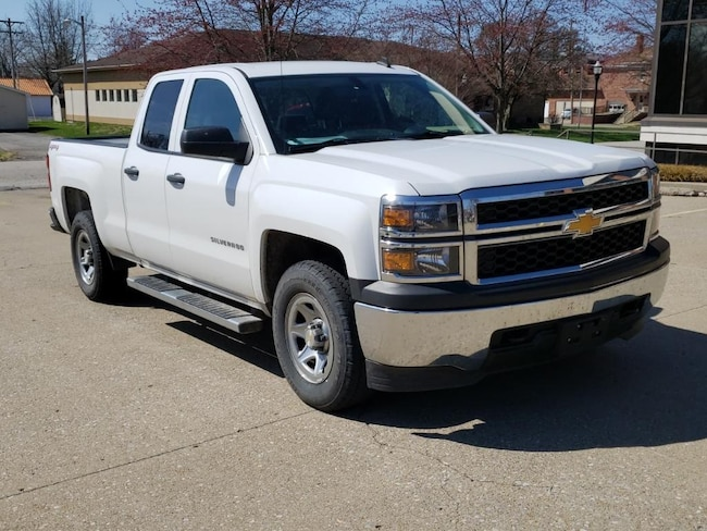 Used 2014 Chevrolet Silverado Work Truck 4WD Double Cab 143.5 for sale in Fairfield, IL