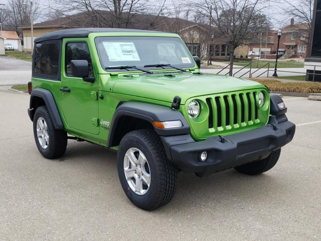 Featured new 2019 Jeep Wrangler SPORT S 4X4 Sport Utility for sale in Fairfield, IL