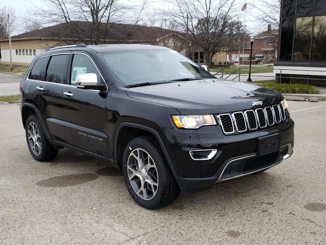 New 2019 Jeep Grand Cherokee LIMITED 4X4 Sport Utility Fairfield IL