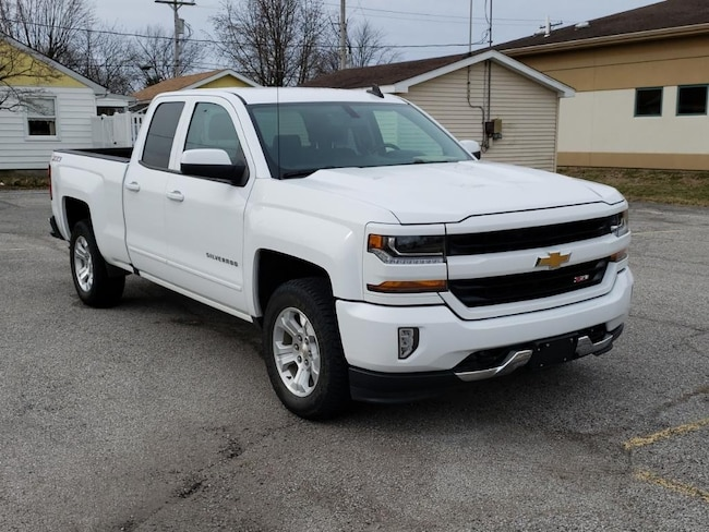 Used 2016 Chevrolet Silverado LT 4WD Double Cab 143.5 for sale in Fairfield, IL