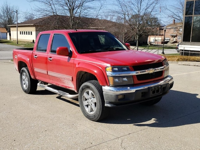Used 2010 Chevrolet Colorado LT w/2LT 4WD Crew Cab 126.0 for sale in Fairfield, IL