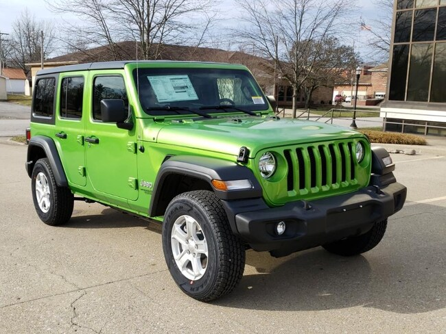 New 2019 Jeep Wrangler UNLIMITED SPORT S 4X4 Sport Utility Fairfield IL
