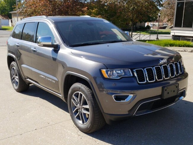 New 2019 Jeep Grand Cherokee LIMITED 4X4 Sport Utility Fairfield IL