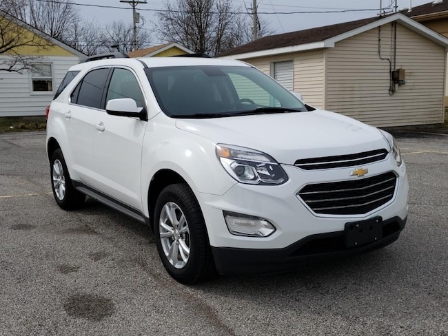 Used 2017 Chevrolet Equinox LT FWD for sale in Fairfield, IL