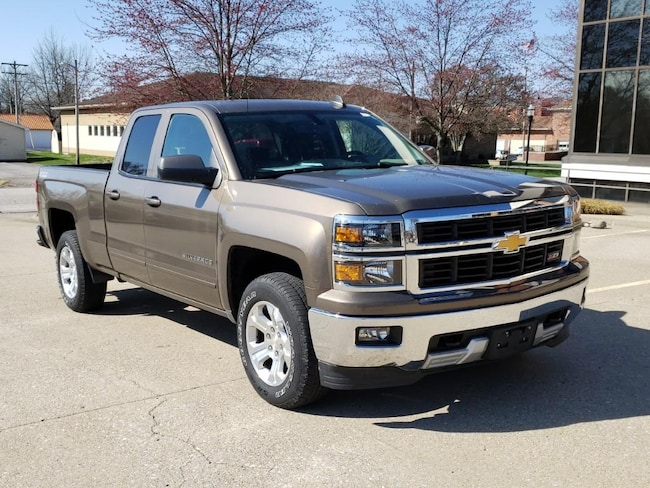Used 2015 Chevrolet Silverado LT 4WD Double Cab 143.5 for sale in Fairfield, IL
