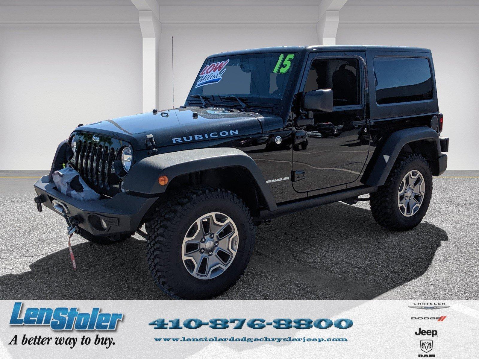 2015 Jeep Wrangler Rubicon SUV