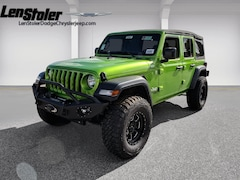 2018 Jeep UNLIMITED LIFTED SPORT S 4X4 Sport Utility Wrangler