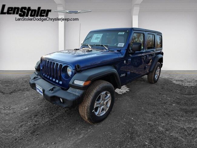 2019 Jeep UNLIMITED SPORT S 4X4 Sport Utility Wrangler