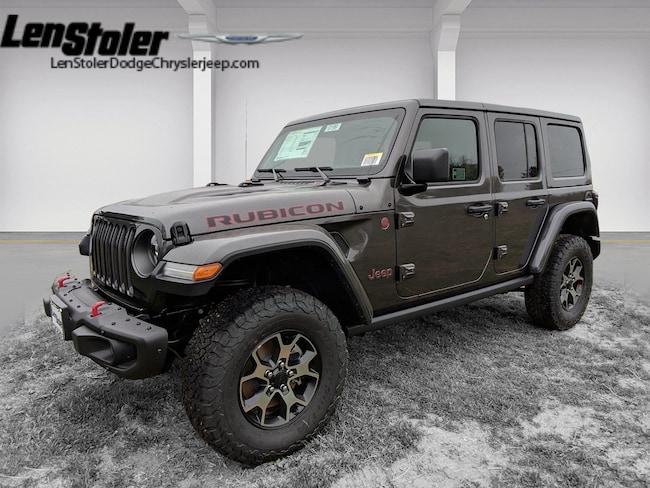 2019 Jeep UNLIMITED RUBICON 4X4 Sport Utility Wrangler