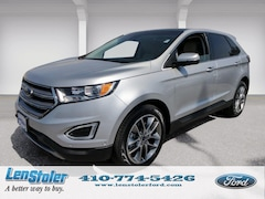 New Ford for sale 2018 Ford Edge Titanium Titanium AWD 2FMPK4K87JBB77739 in Owings Mills, MD
