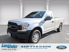 New Ford for sale 2018 Ford F-150 XL XL 2WD Reg Cab 8 Box 1FTMF1CB8JKF26076 in Owings Mills, MD