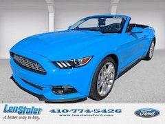 New Ford for sale 2017 Ford Mustang EcoBoost Premium Convertible 1FATP8UH5H5254069 in Owings Mills, MD