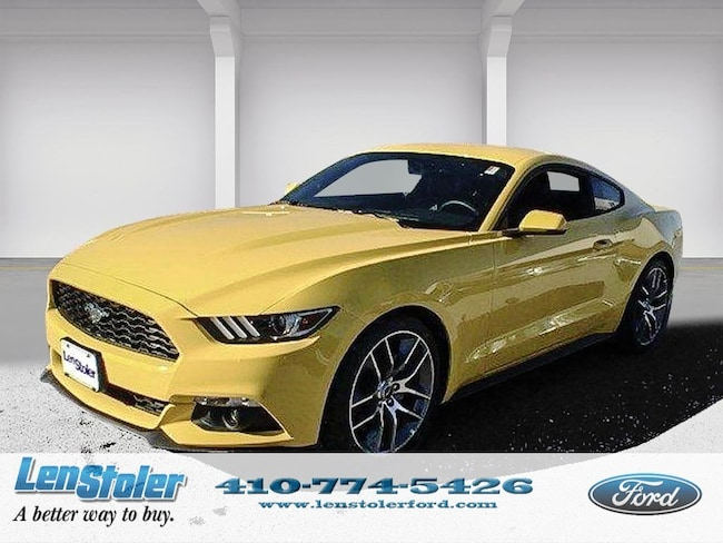 new 2015 Ford Mustang EcoBoost Premium Fastback EcoBoost Premium Owings Mills