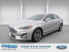 New Ford for sale 2019 Ford Fusion Hybrid Titanium Titanium FWD 3FA6P0RU1KR102413 in Owings Mills, MD