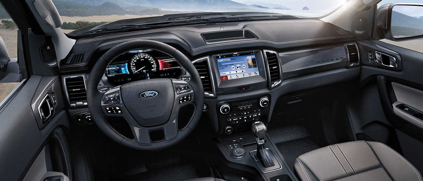 interior view of the 2019 ranger cabin