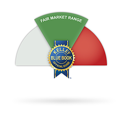 Kelley Blue Book Fair Market Range Logo