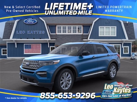 2021 Ford Explorer Limited SUV