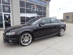2011 Audi A4 2.0T Premium S-LINE OPTIONS.QUATTRO.MANUAL. Sedan