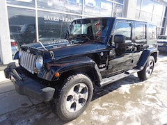 2017 Jeep Wrangler Unlimited Sahara.HARD AND SOFT TOP SUV