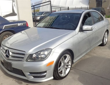 2013 Mercedes-Benz C-Class C300 4MATIC NAVIGATION PREMIUM PKG SUNROOF. Sedan