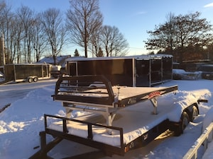 2018 Mission Trailers Plate-forme SLED DECK pour motoneiges