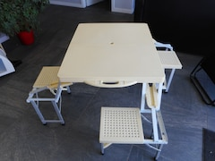 A & L Table pour enfants Extérieur/ Intérieur/ Portative/ Repliable