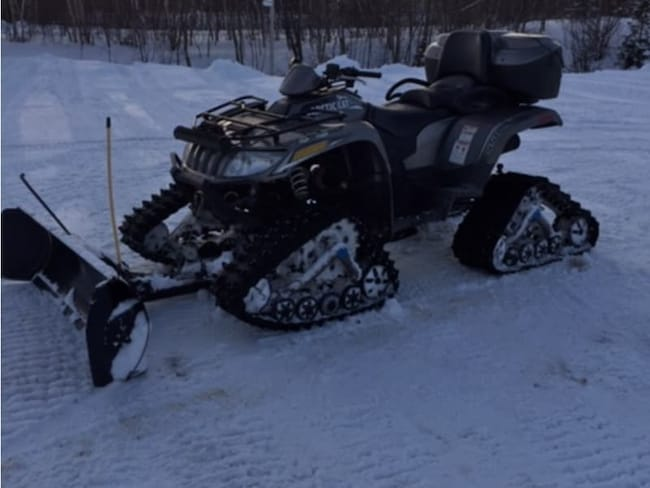 2012 ARCTIC CAT TRV 550 EPS