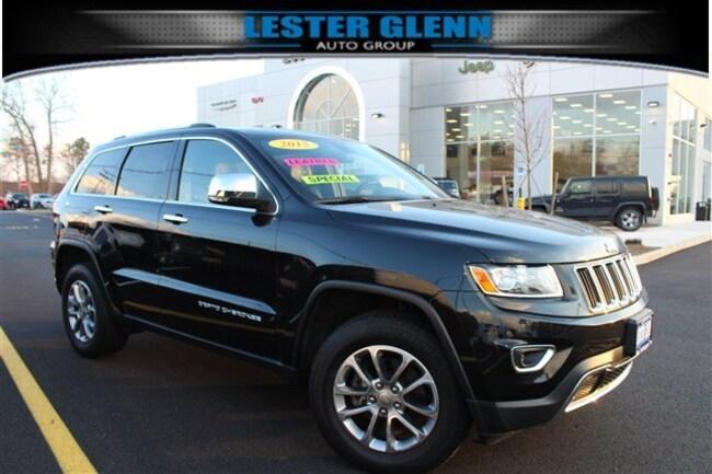 2015 Jeep Grand Cherokee Limited 4x4 Sport Utility for sale in Toms River, NJ at Lester Glenn Mazda