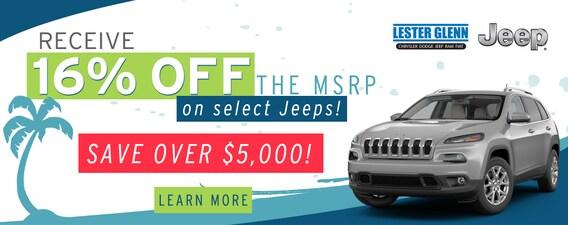 Lester Glenn Jeep >> Lester Glenn Chrysler Dodge Jeep Ram Fiat Summer Sales Event