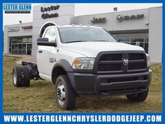 2018 Ram 5500 TRADESMAN CHASSIS REGULAR CAB 4X4 168.5 WB Regular Cab