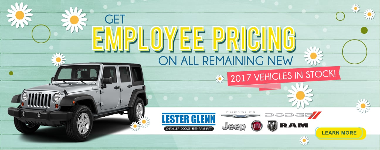 Lester Glenn Jeep >> New & Used Car Dealer | Lester Glenn Chrysler Dodge Jeep RAM FIAT