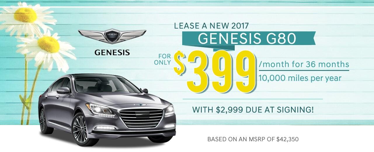 Lester Glenn Genesis 2017 G80 Specials