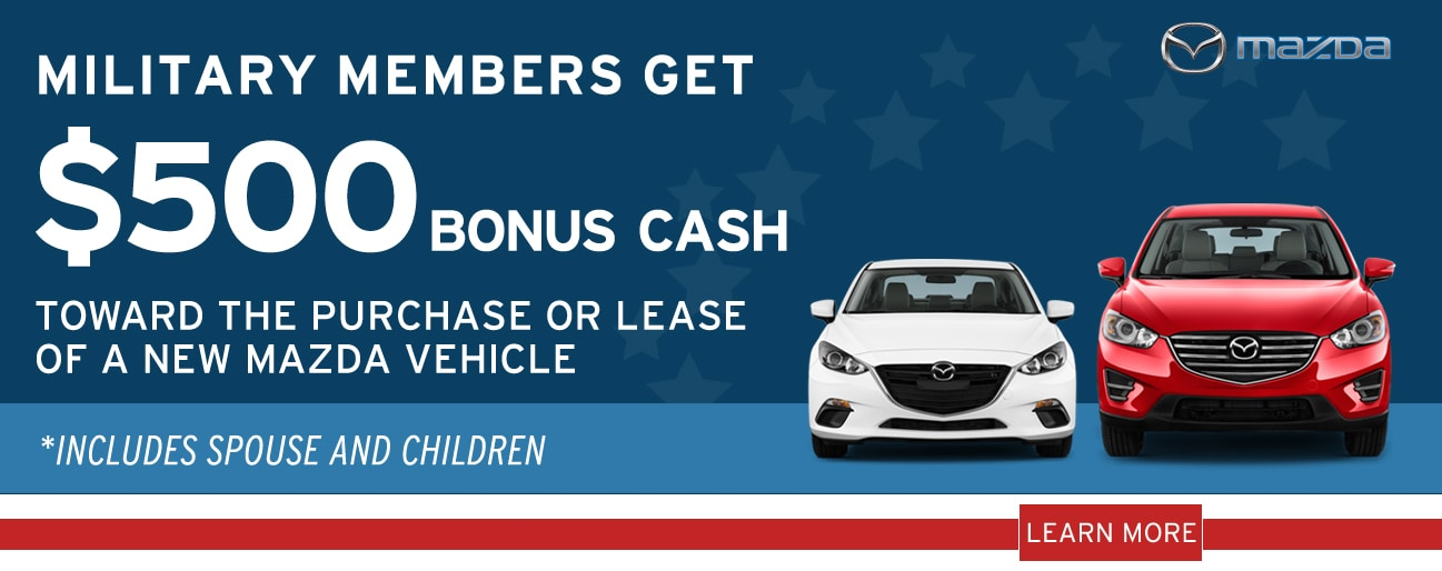 Lester Glenn Mazda New Mazda Dealership In Toms River NJ - Mazda military
