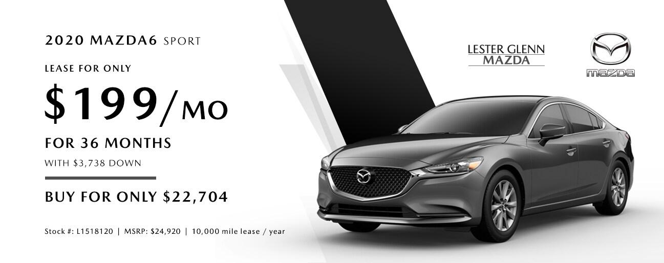 Lester Glenn Mazda >> New 2020 Mazda6 Specials From Lester Glenn Mazda in Toms ...