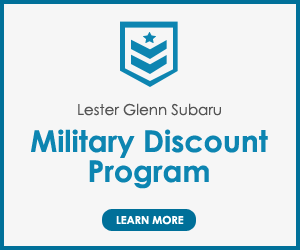 Lester Glenn Subaru Military Discount Program