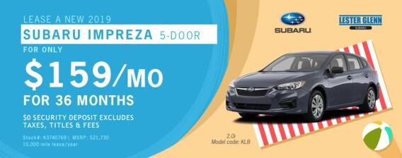 Lester Glenn Subaru >> Lester Glenn Subaru 2019 Subaru Impreza Specials Lester