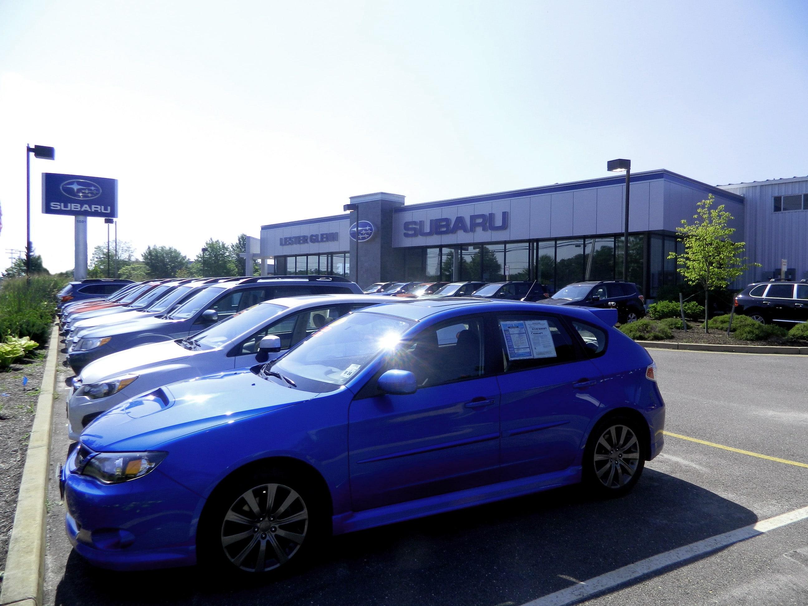 About Lester Glenn Subaru Your Toms River Nj Subaru Dealer