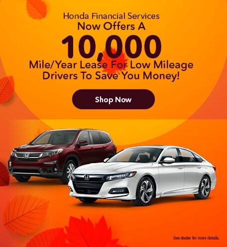 October | Low Mileage Lease