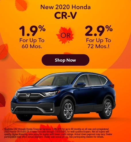 October | 2020 CR-V (APR)