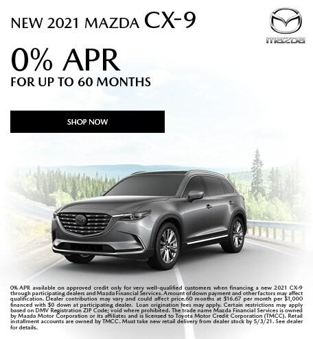 April | 2021 CX-9